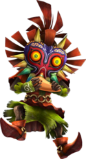 Skull Kid Ocarina HW