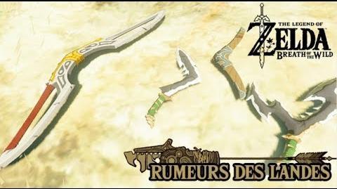 Zelda BOTW - Rumeurs des Landes le Boomerang