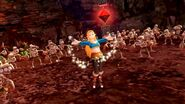 Zelda en un combate HWDE