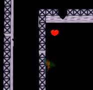 ALBW-Link junto una pared invisble