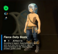 Breath of the Wild Fierce Deity Equipment (Leg Armor) Fierce Deity Boots (Inventory).png