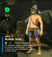 Breath of the Wild Rubber Armor (Armor Helm) Rubber Helm (Inventory)