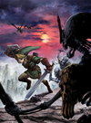 Link vs. Stalfos (Twilight Princess)