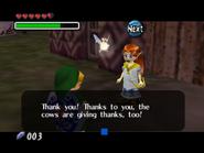 Romani agradeciéndole a Link MM