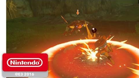 The Legend of Zelda Breath of the Wild - Armes et Combat - E3 2016