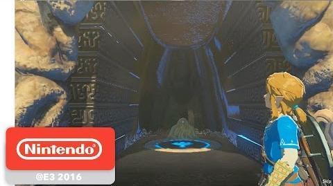 The Legend of Zelda Breath of the Wild - Shrine of Trials Gameplay Partie 2 - E3 2016