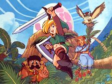 Artwork Link's Awakening
