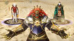 Ganondorf Zant y Grahim HW