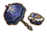 Hyrule Warriors Parasol Luna Parasol (Level 2 Parasol)
