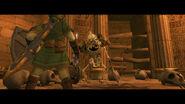 Link contra un Stalfo
