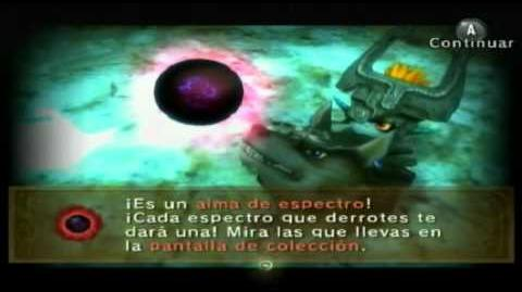 The legend of Zelda twilight princess Almas de Espectro parte 4 (Español)