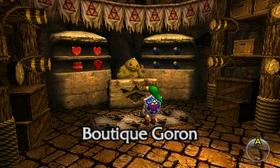 Boutique Goron OoT3D