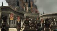 Château d'Hyrule en feu TP