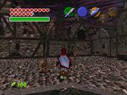Ein Zombie bemerkt Link nicht (Ocarina of Time)