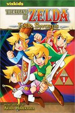 English Four Swords Volume 1 manga cover