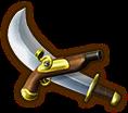 Hyrule Warriors Legends Cutlass Pirate Cutlass (Level 1 Cutlass)