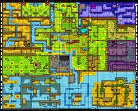 Labrynna-Karte (Gegenwart)