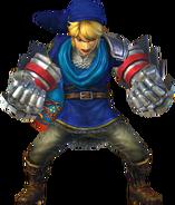 Link traje azul HW
