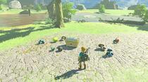 Amiibo Link Rider function