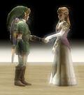 Zelda y Link TP