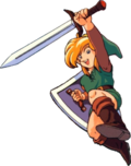 Artwork Link (Link's Awakening)
