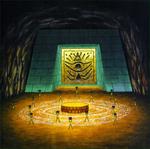 Artwork del Templo de las Sombras OoT