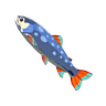 Breath of the Wild Fish (Trout) Stealthfin Trout (Icon)