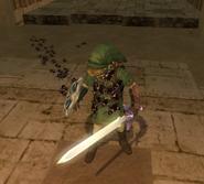 Ácaros Venenosos subiéndose a Link