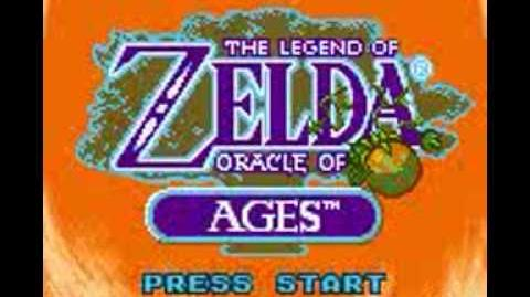 Legend of Zelda Oracle of Ages (GBC) Intro