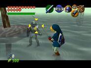 Link Oscuro casi transparente
