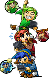 Tri Force Heroes artwork 5
