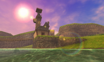 Lac Hylia OoT 3D