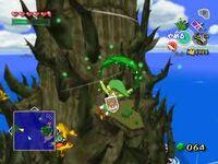 Link yendo al Bosque Prohibido TWW