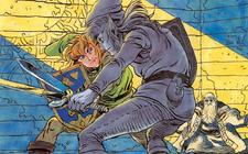Artwork Link vs. Link Oscuro TAoL