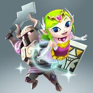 Artwork arma Toon Zelda HW