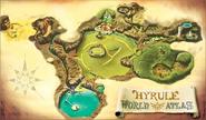 Mapa de Hyrule OoT3DS