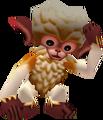 Mono tocándose la cabeza MM