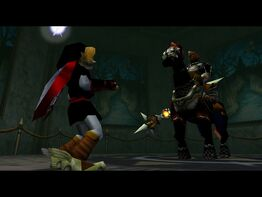 Phantom Ganon ohne Maske (OoT)