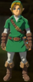 Breath of the Wild amiibo Rune Items (Hero of Time Armor Set) Hero of Time's Armor (Kokiri Tunic & Kokiri Boots).png