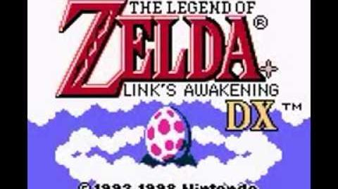 Legend of Zelda Links Awakening DX (GBC) Intro