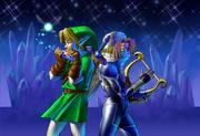 Link and Sheik Duet