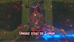 Ombre d'eau de Ganon BOTW