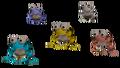Cinco Ranas Fabulosas OoT