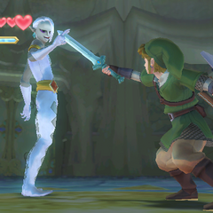 Link combatte contro <a href=