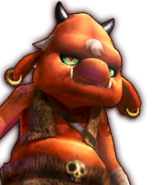 Hyrule Warriors Enemies Bokoblin (Dialog Box Portrait)