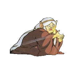Impa in <i>The Adventure of Link</i>