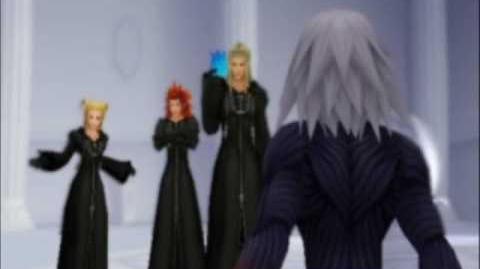 Kingdom Hearts RE Chain of Memories English Dub cutscenes (Riku's story) part 3