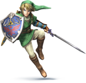Link (Smash Bros. 3DS Wii U)