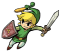 Link Artwork 7 (The Minish Cap)