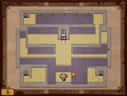 Mapa de la sexta planta del Templo de los Mares ST